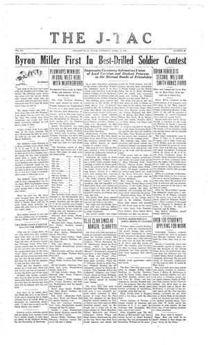 Primary view of The J-TAC (Stephenville, Tex.), Vol. 12, No. 28, Ed. 1 Saturday, April 16, 1932