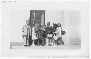 Primary view of object titled 'Van Horn children, 1939'.
