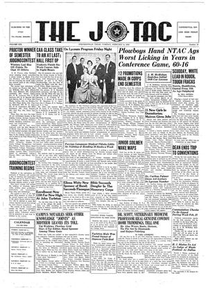 The J-TAC (Stephenville, Tex.), Vol. 19, No. 16, Ed. 1 Tuesday, February 6, 1940