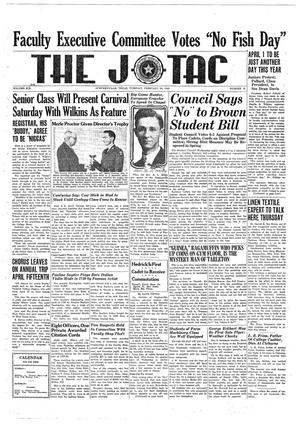 The J-TAC (Stephenville, Tex.), Vol. 19, No. 18, Ed. 1 Tuesday, February 20, 1940