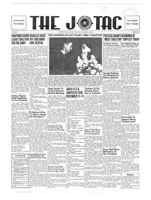 The J-TAC (Stephenville, Tex.), Vol. 20, No. 13, Ed. 1 Tuesday, December 10, 1940