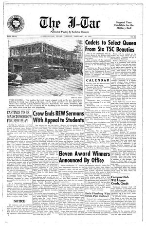 Primary view of The J-TAC (Stephenville, Tex.), Vol. 31, No. 20, Ed. 1 Tuesday, February 20, 1951