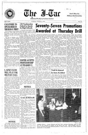 Primary view of The J-TAC (Stephenville, Tex.), Vol. 31, No. 22, Ed. 1 Tuesday, March 6, 1951