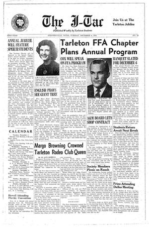Primary view of The J-TAC (Stephenville, Tex.), Vol. 32, No. 12, Ed. 1 Tuesday, December 4, 1951