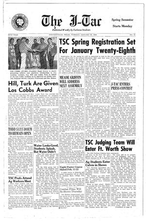 The J-TAC (Stephenville, Tex.), Vol. 32, No. 16, Ed. 1 Tuesday, January 22, 1952