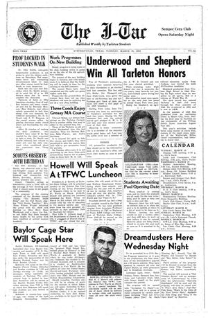 The J-TAC (Stephenville, Tex.), Vol. 32, No. 24, Ed. 1 Tuesday, March 18, 1952