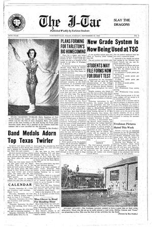 The J-TAC (Stephenville, Tex.), Vol. 34, No. 2, Ed. 1 Tuesday, September 22, 1953