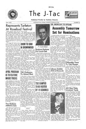 The J-TAC (Stephenville, Tex.), Vol. 35, No. 21, Ed. 1 Tuesday, March 22, 1955