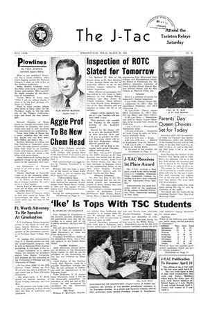 The J-TAC (Stephenville, Tex.), Vol. 36, No. 21, Ed. 1 Tuesday, March 20, 1956