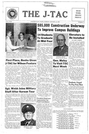 The J-TAC (Stephenville, Tex.), Vol. 37, No. 13, Ed. 1 Tuesday, January 14, 1958