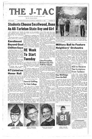 The J-TAC (Stephenville, Tex.), Vol. 38, No. 15, Ed. 1 Tuesday, February 17, 1959