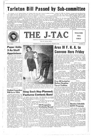 The J-TAC (Stephenville, Tex.), Vol. 38, No. 17, Ed. 1 Tuesday, March 3, 1959