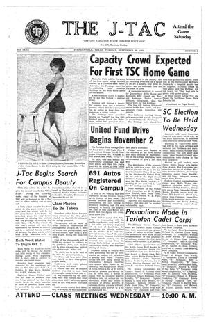 The J-TAC (Stephenville, Tex.), Vol. 50, No. 3, Ed. 1 Tuesday, September 26, 1961