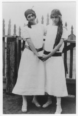 Primary view of object titled 'Harriett Duncan and Florence Malone'.