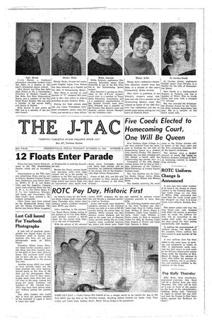 Primary view of object titled 'The J-TAC (Stephenville, Tex.), Vol. 50, No. 8, Ed. 1 Tuesday, October 31, 1961'.