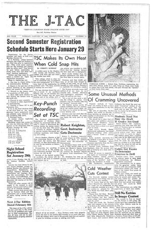 The J-TAC (Stephenville, Tex.), Vol. 50, No. 14, Ed. 1 Tuesday, January 16, 1962