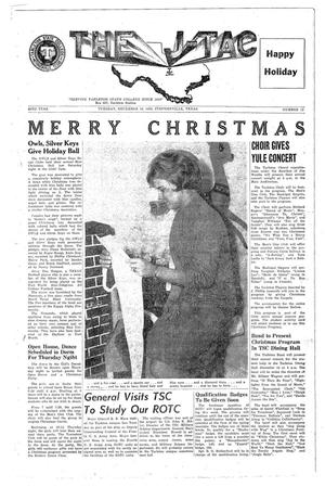 Primary view of The J-TAC (Stephenville, Tex.), Vol. 42, No. 13, Ed. 1 Tuesday, December 18, 1962