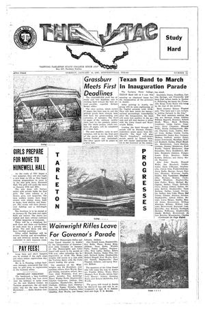 The J-TAC (Stephenville, Tex.), Vol. 42, No. 14, Ed. 1 Tuesday, January 15, 1963