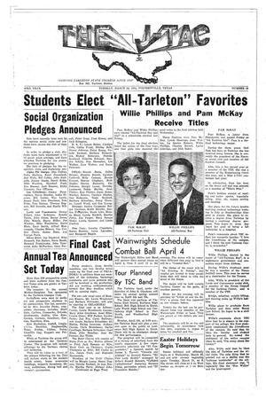 The J-TAC (Stephenville, Tex.), Vol. 43, No. 19, Ed. 1 Tuesday, March 24, 1964