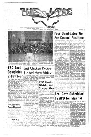 The J-TAC (Stephenville, Tex.), Vol. 43, No. 21, Ed. 1 Tuesday, April 14, 1964