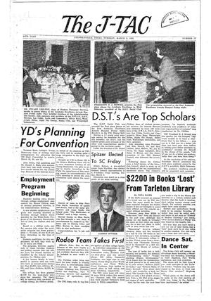 The J-TAC (Stephenville, Tex.), Vol. 44, No. 17, Ed. 1 Tuesday, March 9, 1965