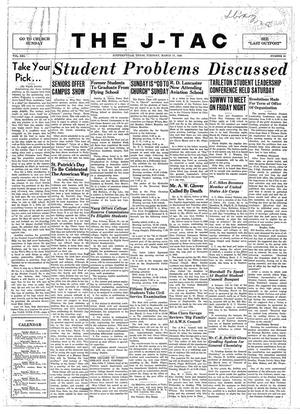 The J-TAC (Stephenville, Tex.), Vol. 21, No. 21, Ed. 1 Tuesday, March 17, 1942