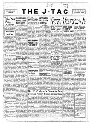 The J-TAC (Stephenville, Tex.), Vol. 21, No. 22, Ed. 1 Tuesday, March 24, 1942