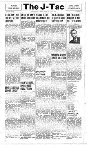 The J-TAC (Stephenville, Tex.), Vol. 23, No. 12, Ed. 1 Tuesday, May 2, 1944