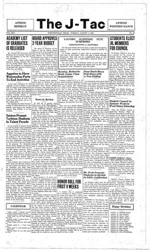 The J-TAC (Stephenville, Tex.), Vol. 25, No. 21, Ed. 1 Tuesday, August 7, 1945