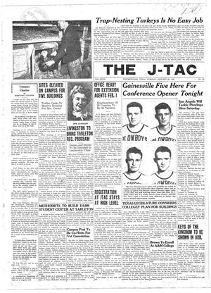Primary view of object titled 'The J-TAC (Stephenville, Tex.), Vol. 27, No. 18, Ed. 1 Tuesday, January 28, 1947'.