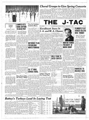 Primary view of object titled 'The J-TAC (Stephenville, Tex.), Vol. 27, No. 21, Ed. 1 Tuesday, February 18, 1947'.