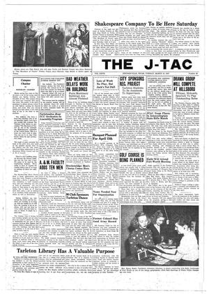 Primary view of object titled 'The J-TAC (Stephenville, Tex.), Vol. 27, No. 25, Ed. 1 Tuesday, March 18, 1947'.