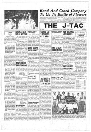 Primary view of object titled 'The J-TAC (Stephenville, Tex.), Vol. 27, No. 29, Ed. 1 Tuesday, April 22, 1947'.