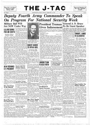 The J-TAC (Stephenville, Tex.), Vol. 28, No. 19, Ed. 1 Tuesday, February 10, 1948