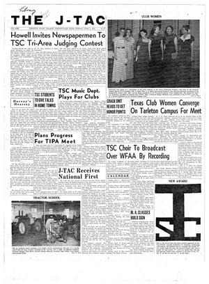 Primary view of object titled 'The J-TAC (Stephenville, Tex.), Vol. 30, No. 27, Ed. 1 Tuesday, April 4, 1950'.