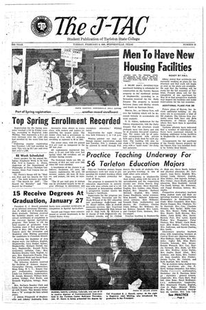 The J-TAC (Stephenville, Tex.), Vol. 45, No. 13, Ed. 1 Tuesday, February 8, 1966