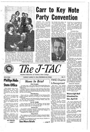 The J-TAC (Stephenville, Tex.), Vol. 45, No. 17, Ed. 1 Tuesday, March 15, 1966
