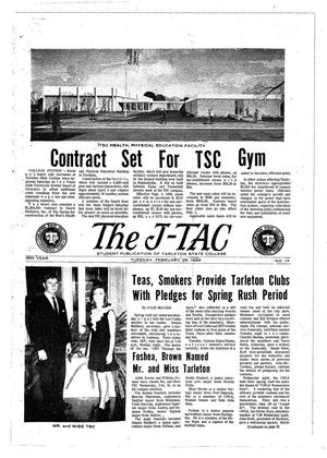 Primary view of object titled 'The J-TAC (Stephenville, Tex.), Vol. 49, No. 14, Ed. 1 Tuesday, February 25, 1969'.