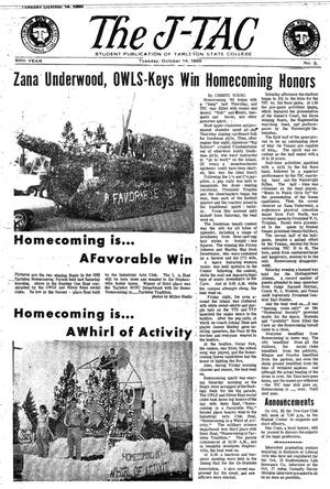 The J-TAC (Stephenville, Tex.), Vol. 50, No. 5, Ed. 1 Tuesday, October 14, 1969