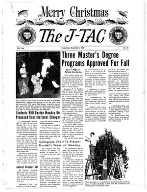 The J-TAC (Stephenville, Tex.), Vol. 51, No. 11, Ed. 1 Wednesday, December 9, 1970