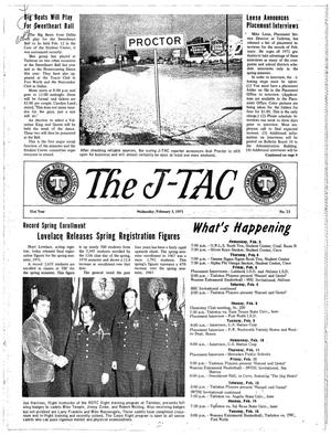 Primary view of object titled 'The J-TAC (Stephenville, Tex.), Vol. 51, No. 13, Ed. 1 Wednesday, February 3, 1971'.