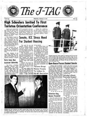 The J-TAC (Stephenville, Tex.), Vol. 51, No. 14, Ed. 1 Wednesday, February 17, 1971