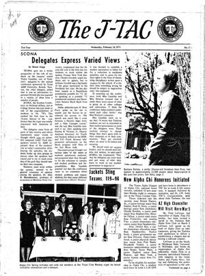 The J-TAC (Stephenville, Tex.), Vol. 51, No. 15, Ed. 1 Wednesday, February 24, 1971
