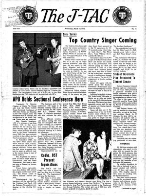 The J-TAC (Stephenville, Tex.), Vol. 51, No. 16, Ed. 1 Wednesday, March 10, 1971