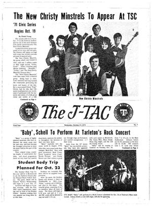 Primary view of object titled 'The J-TAC (Stephenville, Tex.), Vol. 52, No. 7, Ed. 1 Wednesday, October 13, 1971'.