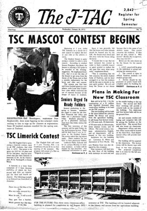 The J-TAC (Stephenville, Tex.), Vol. 53, No. 13, Ed. 1 Wednesday, January 26, 1972
