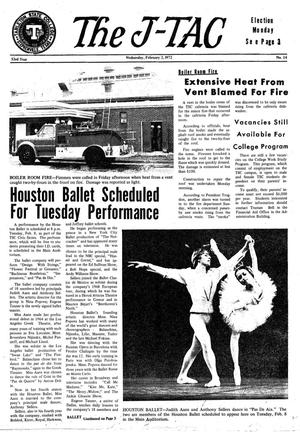 The J-TAC (Stephenville, Tex.), Vol. 53, No. 14, Ed. 1 Wednesday, February 2, 1972