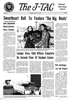 The J-TAC (Stephenville, Tex.), Vol. 53, No. 15, Ed. 1 Wednesday, February 9, 1972