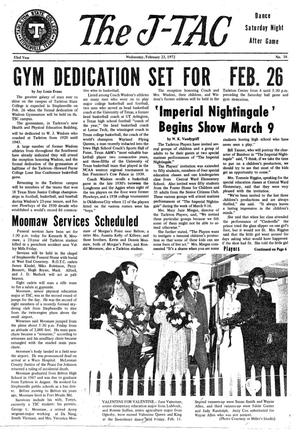 The J-TAC (Stephenville, Tex.), Vol. 53, No. 16, Ed. 1 Wednesday, February 23, 1972
