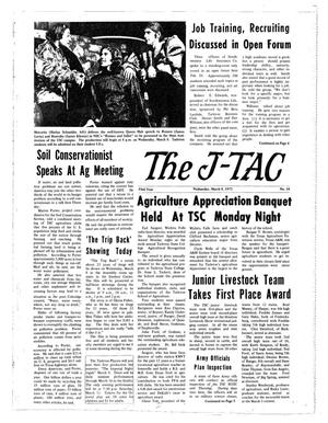 Primary view of object titled 'The J-TAC (Stephenville, Tex.), Vol. 53, No. 18, Ed. 1 Wednesday, March 8, 1972'.